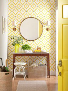 Decoración en amarillo | Woodies