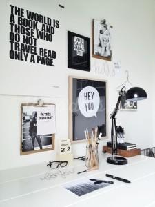 Frases motivadoras en zona de trabajo | Woodies