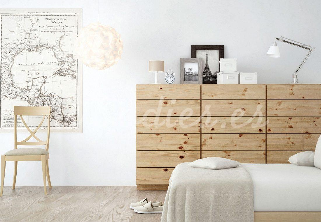 Estilo nórdico: locura por la madera de pino