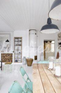 Estilo nordico salón| Woodies