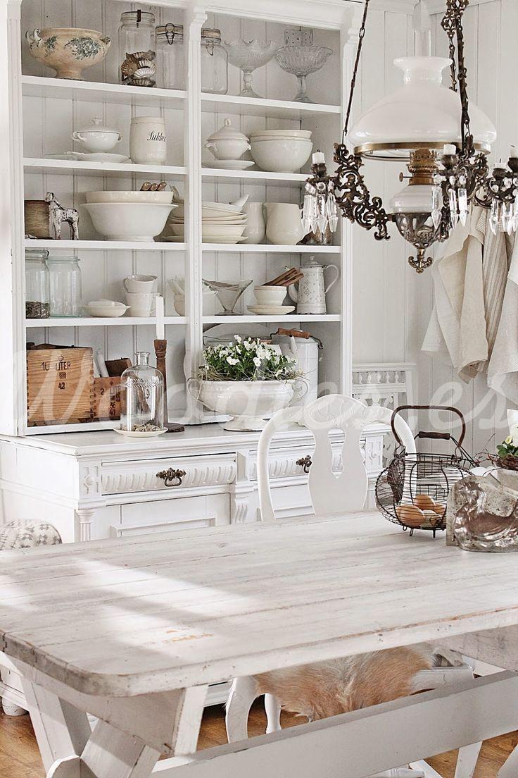 Mesa De Comedor Blanca Woodies Woodies Muebles R Sticos A  # Muebles Woodies