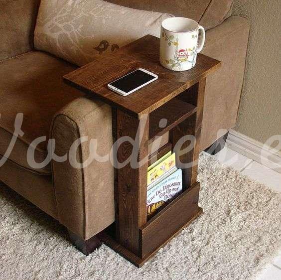Mesa auxiliar para sillón | Woodies