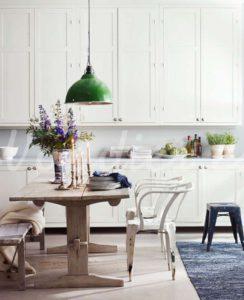 Silla industrial blanca | Woodies