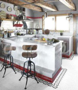 Silla industrial cocina | Wodies