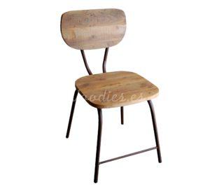 Silla estilo industrial | Woodies
