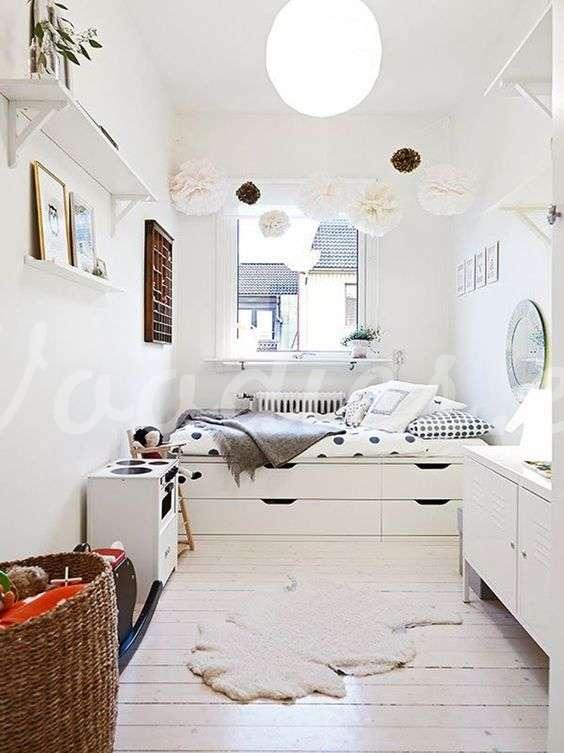 Camas con almacenaje, mejora el orden de tu habitación