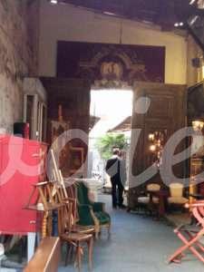 Mobiliario en el Mercado de las Pulgas | Wodies