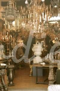 Lámparas del Mercado de las Pulgas | Woodies