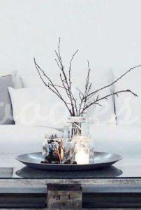 Decoración otoñal basada en velas |Woodies