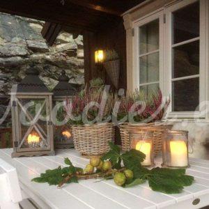 Decoración otoñal de mesa | Woodies