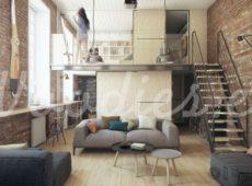 Lofts inspiracionales: modernidad y calidez en tu hogar