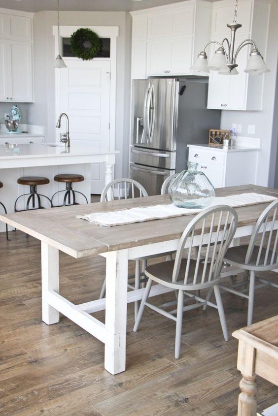 Cómo elegir la mesa de cocina perfecta - Muebles rústicos a medida