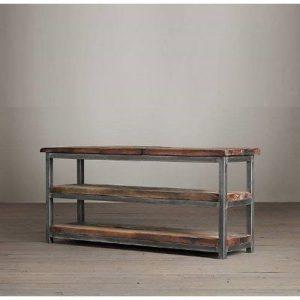 Muebles de televisi n de estilo industrial consejos y for Mueble de pared industrial