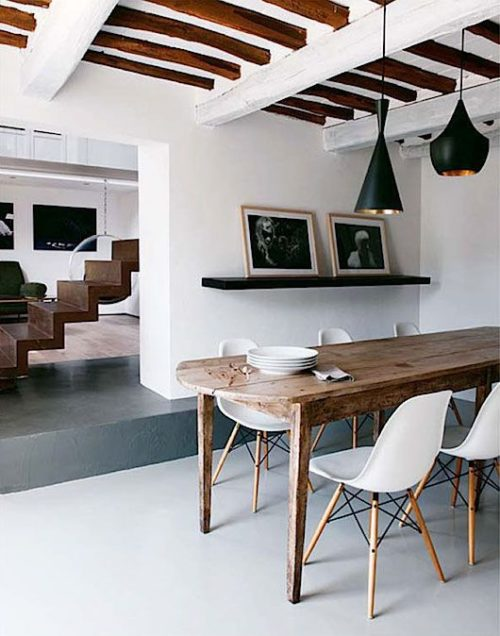 Vigas de madera para decorar tu hogar