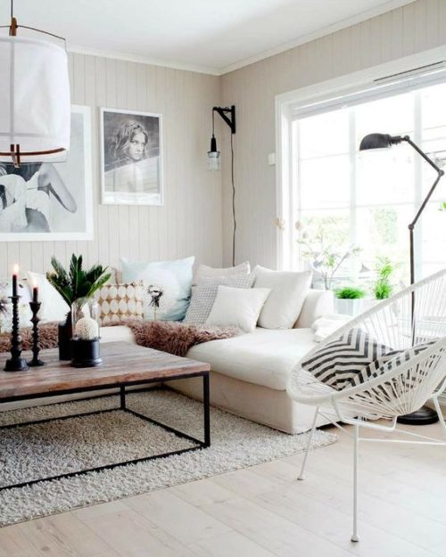 Contraste: decora en blanco y negro