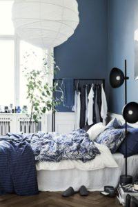 Habitación en azul oscuro | Woodies