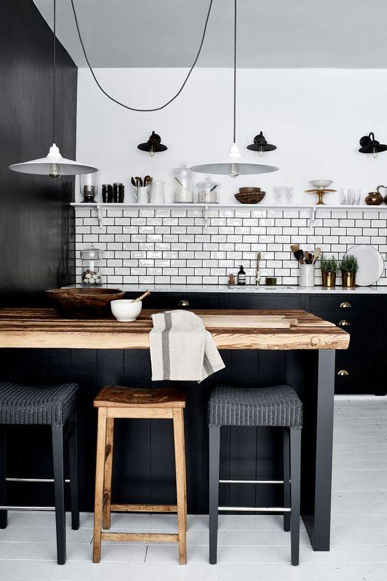Barras de cocina de estilo rústico para tu hogar