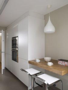 Pequeña barra de cocina lateral | Woodies