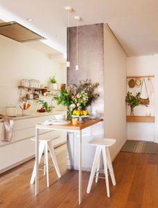Barra de cocina pequeña | Woodies