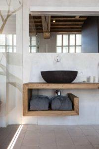 Muebles de baño de madera estilo minimal | Woodies