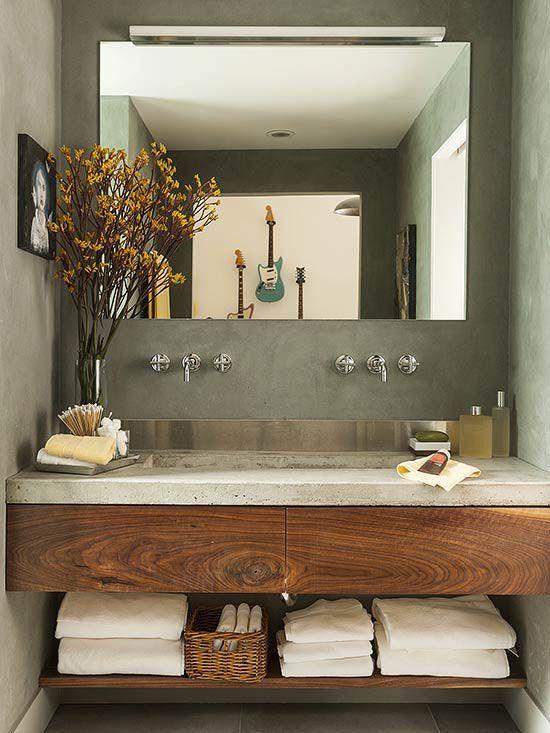 Muebles de baño de madera, el nuevo must de tu hogar