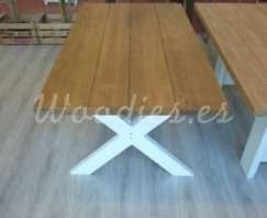 mesa de comedor cottage 160x90