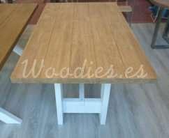 mesa de comedor rustic 160x90