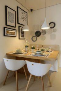 Mesas de comedor para espacios pequeños - Muebles rústicos a ...