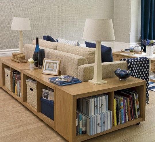 Muebles polivalentes en todas las habitaciones