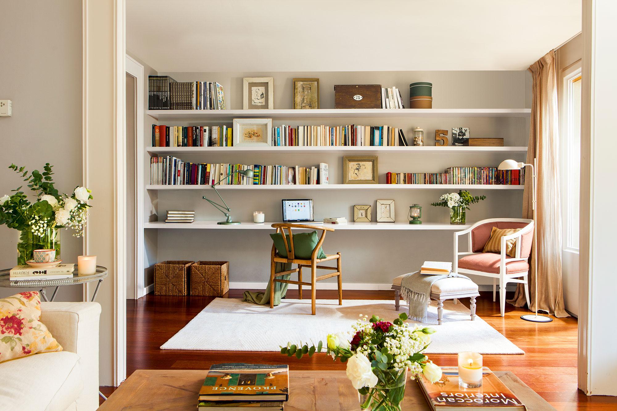 Las baldas de madera tu aliado para cualquier espacio muebles r sticos a medida - Estanterias a medida ...