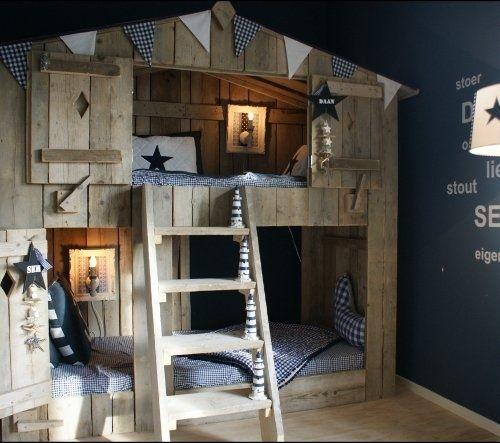 Dormitorios Infantiles con Madera
