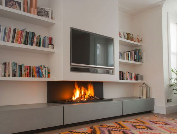 Televisores, ideas para integrarlos en la decoración de tu salón