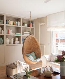 Columpios y hamacas colgantes para interior muebles r sticos a medida Columpio interior
