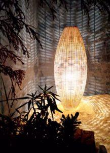 Ideas para lámparas de fibras naturales