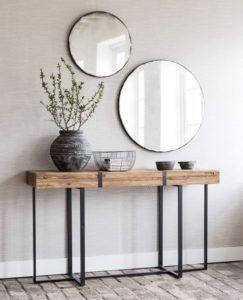 Espejos redondos, tendencia en decoración