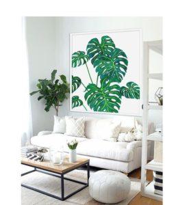 Decoración tropical, el paraíso en tu hogar