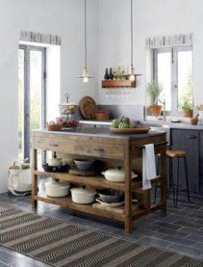 Cómo integrar la madera en la cocina