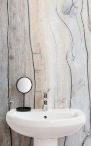 Inspiración: Papel pintado en baños