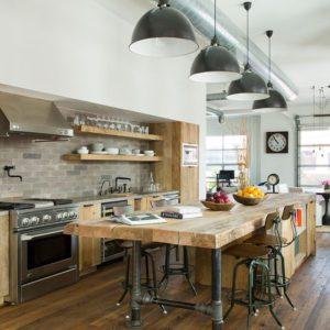 Claves para un estilo rústico en un piso urbano y moderno