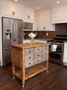 Mesas pequeñas para cocinas