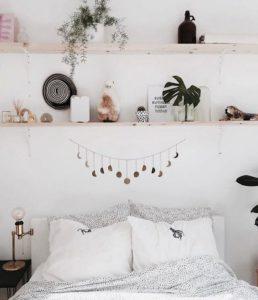 Ideas para decorar dormitorios sin cabecero en la cama