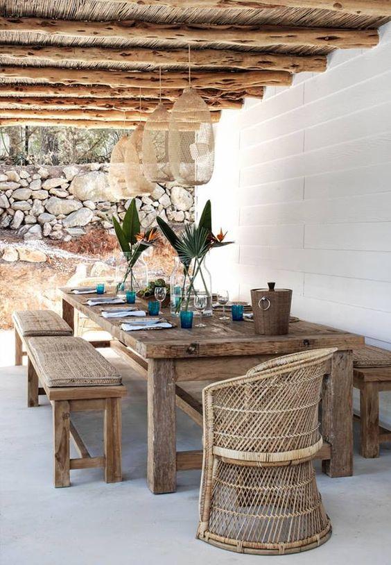 Ideas De Mesas De Madera Para Tu Terraza Esta Primavera