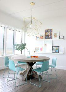 Razones para escoger una mesa redonda para tu comedor