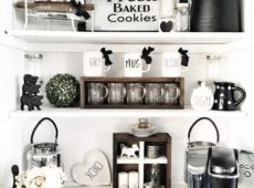 Ideas para crear un rincón coffee bar en casa