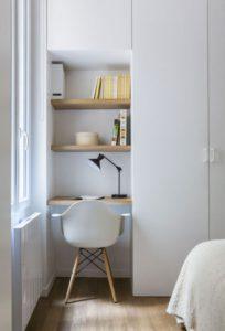 trucos con estanterías mantener el orden en pisos pequeños