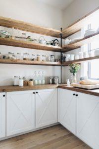 ideas para estanterias abiertas de madera