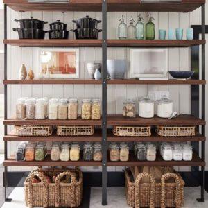 ideas para estanterias abiertas como mobiliario