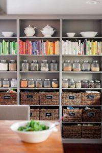 ideas para estenterias abiertas como mobiliario principal