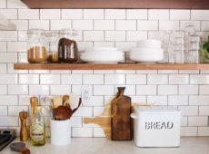 Ideas de estanterías abiertas en la cocina