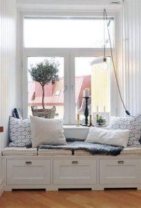 Consejos para aprovechar rincones difíciles ventanas